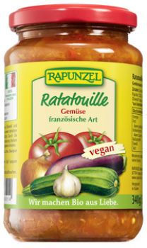 Bio  Tomatensauce Ratatouille  340g/335ml