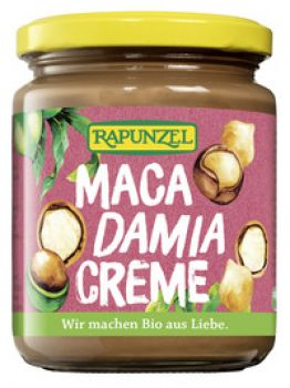 BIO Macadamia Creme 250g SUPERLECKER