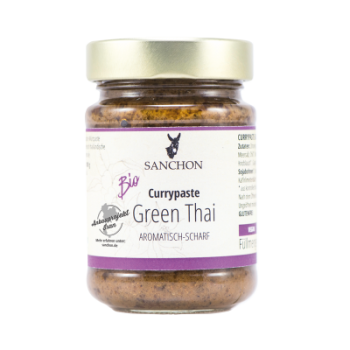 BIO Green Thai Curry Paste 190g