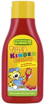BIO Ketchup Tiger kinder Rapunzel in Squezzeflasche